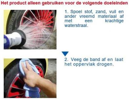 SENSHA Aqueous Tire Wax instructie 1van2a