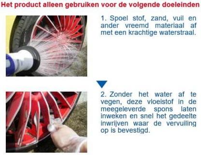 SENSHA Brake Dust Cut instructie 1van2a