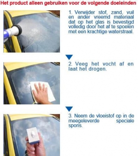 SENSHA Glass Polish Instructie 1van2a