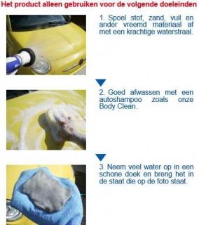 SENSHA Clean Clay Instructie 1van2a