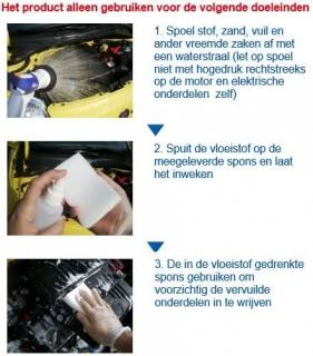 SENSHA Engine Clean instructie 1van2a