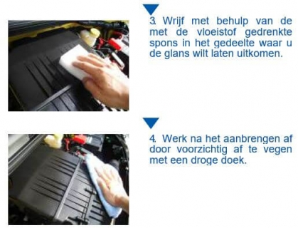 SENSHA Engine Wax instructie 2van2a