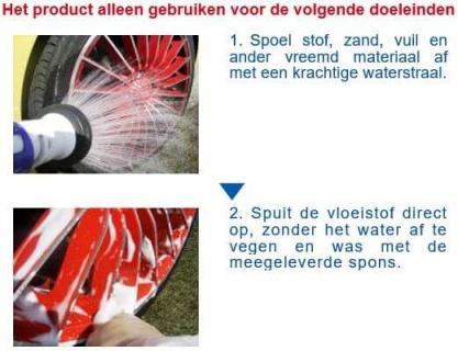 SENSHA Wheel Tire Clean instructie 1van2a