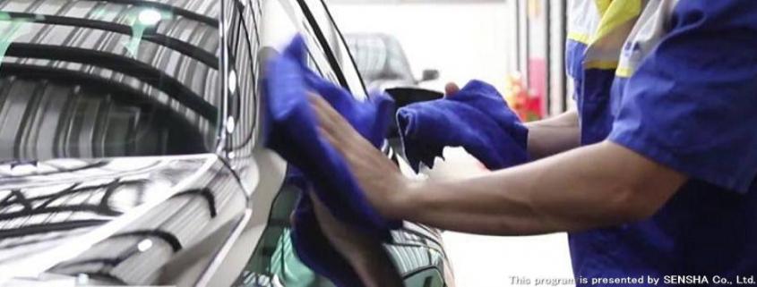 SENSHA autowassen in 5 stappen en 80 minuten
